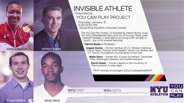 Invisible Athlete- You Can Play