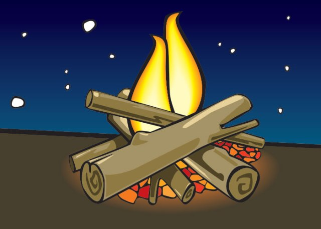 cartoon-campfire
