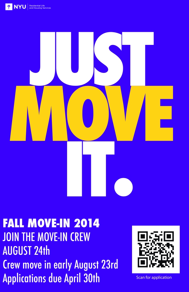 Move-in Poster 2014